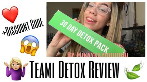Teami 30 Day Detox Reviews by Teami 30 Day Detox Review Discount Code
