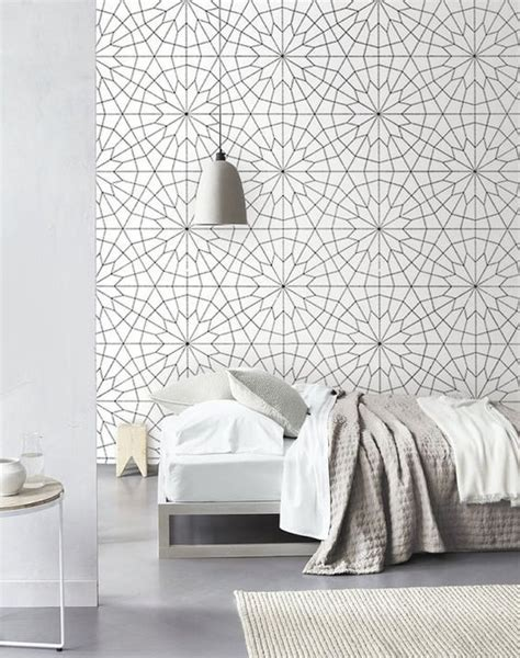 wallpaper for bedroom walls 31 wallpaper accent walls that are worth pinning digsdigs