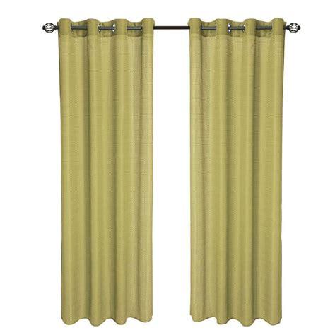 curtains length 108 lavish home sage olivia jacquard grommet curtain panel