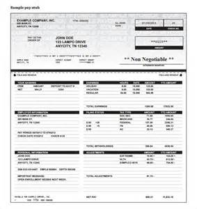 Paycheck Template by Paycheck Stub Templates Free Autos Weblog