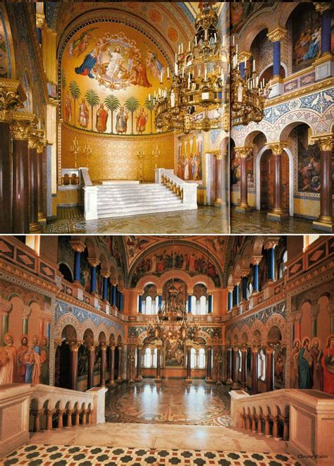 Castle Throne Room by Castles From History Neuschwanstein Castle