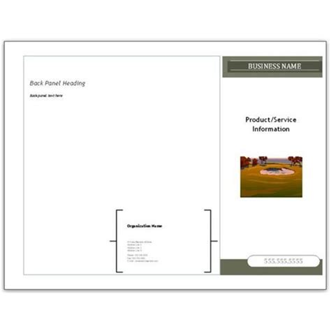 Brochure Templates Microsoft Publisher best photos of microsoft brochure templates flyers