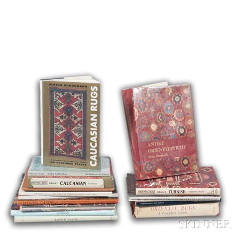 Rug Catalogs by Eighteen Rug Books And Catalogs Sale Number 3004b Lot