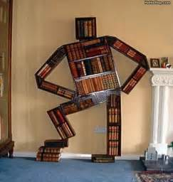 Interesting Bookshelves Cool Book Shelf