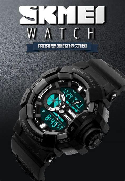 Skmei Pioneer Sport Water Resistant 50m Dg1068 Blue skmei jam tangan digital analog pria ad1117 blue jakartanotebook
