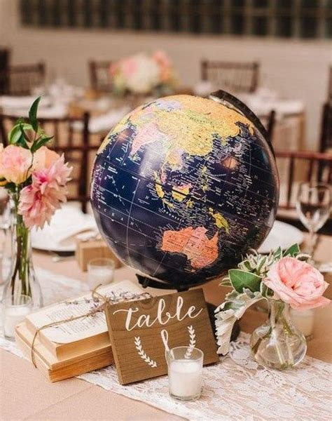 travel themed table decorations 25 best ideas about travel theme on