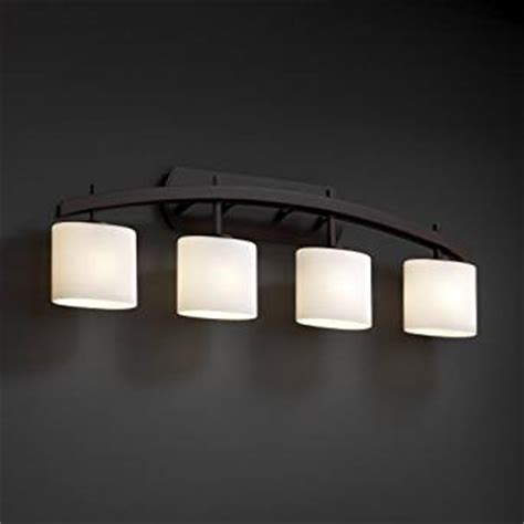 black bathroom light fixtures justice design fusion archway four light matte black