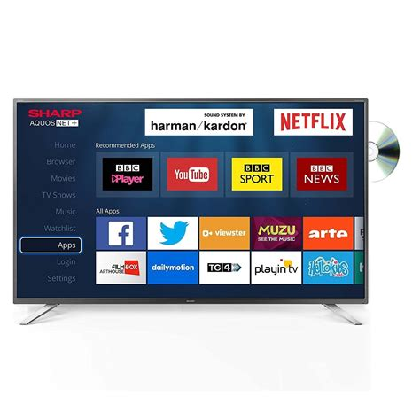 Sharp Led Tv 32 Lc 32sa4102i sharp lc 32dhg6021k 32 quot 720p hd ready smart tv and dvd