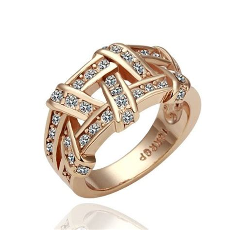Cincin Bvlgari Gold White gold ring gold rings for