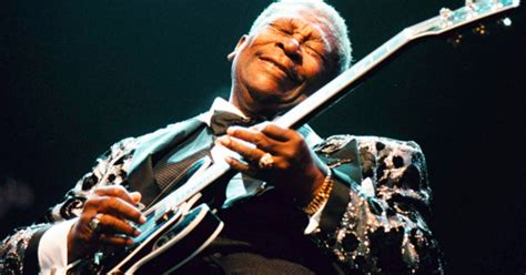 B B King on the with b b king rolling