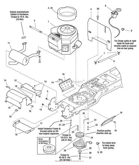 kohler mand 23 engine diagram within kohler schematics