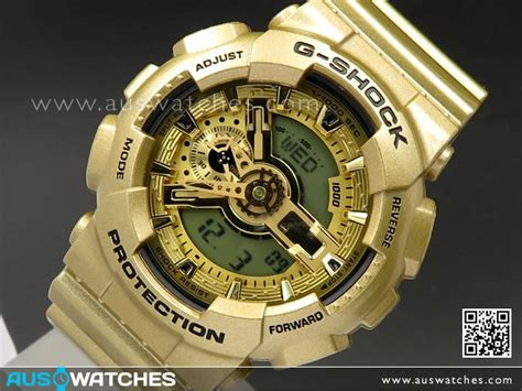 Casio Gshock Original Ga 110gd 9a buy casio g shock gold edition analog digital 100m