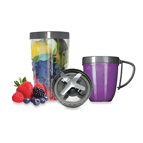 magic bullet bed bath and beyond magic bullet 174 nutribullet 174 deluxe 5 piece upgrade kit bed bath beyond