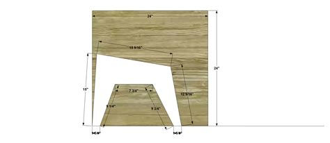 adirondack chair ottoman plans free free woodworking plans to build a cb2 inspired sawyer