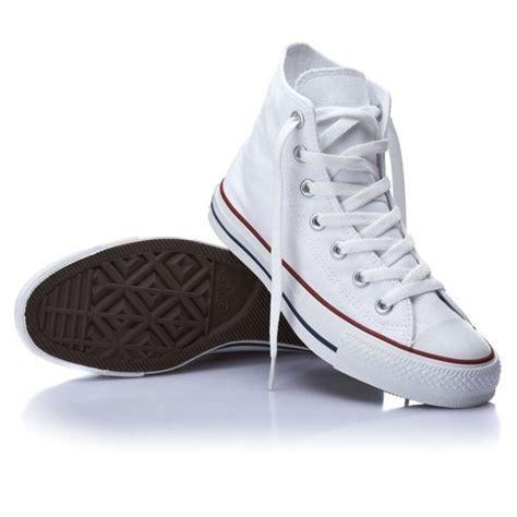 shoes size 4 5 converse hi top chuck optical white mens