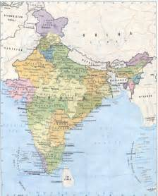 Map Of India Cities by Detailed Political And Administrative Map Of India India