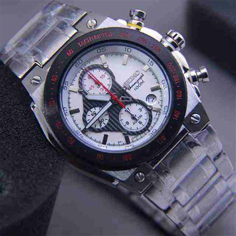 jual jam tangan pria merk seiko chronograhp type