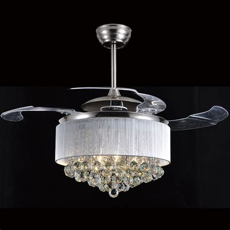 dining room fan light led ceiling fan light dining room ceiling fan crystal