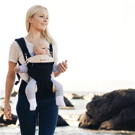 Ergobaby Four Position 360 Carrier Blackcamel ergobaby 360 blackcamel free shipping in australia four position ergonomic forward facing