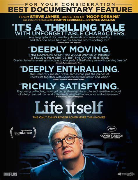 biography documentary list life itself roger ebert