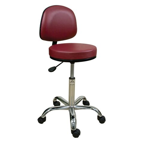 Stool With Backrest Adjustable Height by Oakworks Height Adjustable Professional Stool With