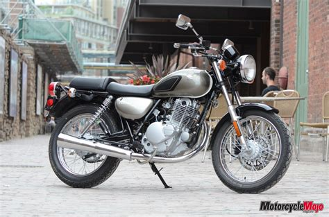 Tu250 Suzuki Mojo Test Ride Suzuki Tu250