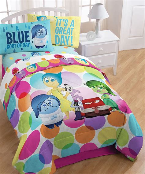 pixar bedroom inside out bedding wall art and bedroom decor new