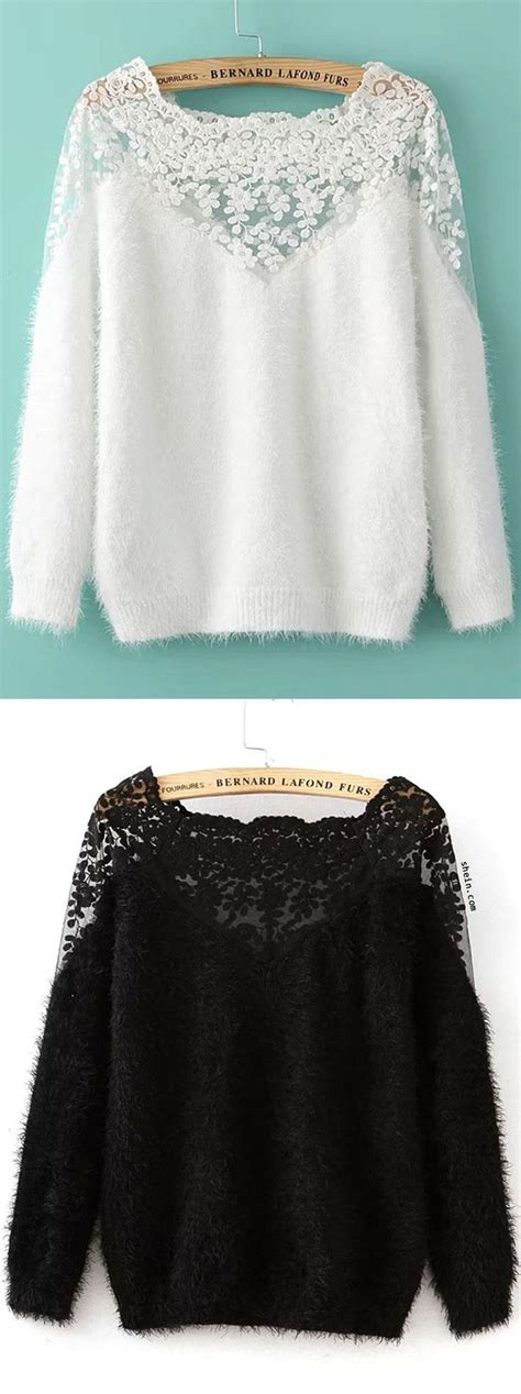 lace insert boat neck mohair sweater 25 best ideas about lace insert on pinterest lace