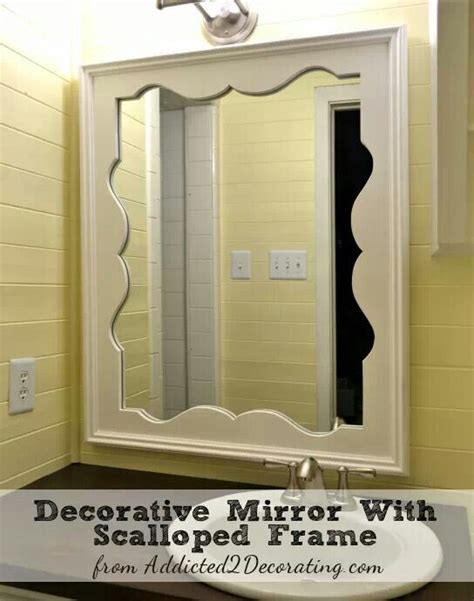 Pretty Bathroom Mirrors Pretty Bathroom Mirror Bathrooms Pinterest Mirror Bathroom And Bathroom Mirrors
