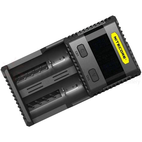 uk nitecore sc2 3a 2016 li ion imr lifepo4 ni mh intellicharge battery charger