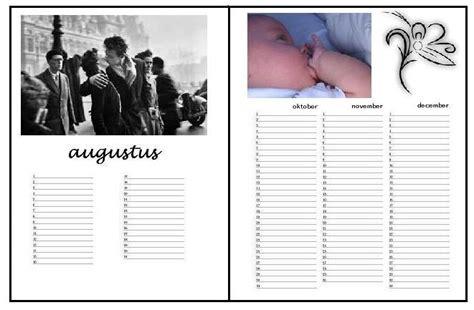 layout artikel maken verjaardagskalender layout voorbeeld met lijn hobby blogo nl