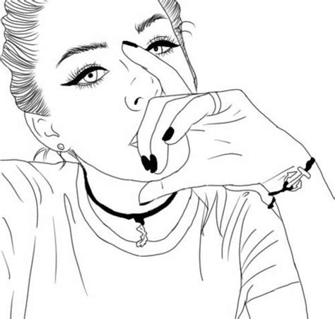 Imagenes Hipster Tumblr Blanco Y Negro | resultado de imagen para fotos tumblr de chicas dibujadas