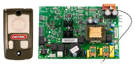 Genie Intellig 1000 Garage Door Opener Circuit Board Assembly by Genie 38878r S Replacement Circuit Board Assembly