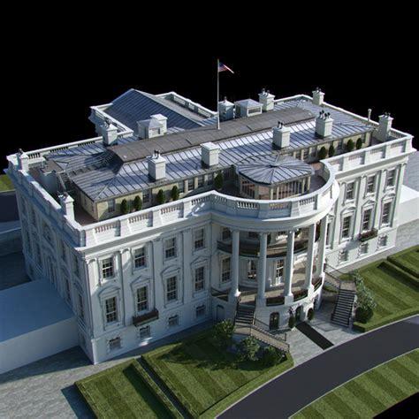 models the 2015 white house 3d model washington white house