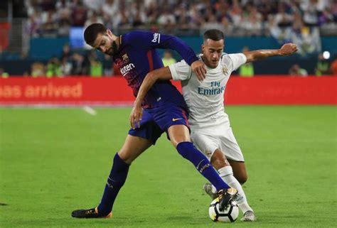 imagenes real madrid barcelona 2017 barcelona vs real madrid en vivo supercopa de espa 241 a 2017