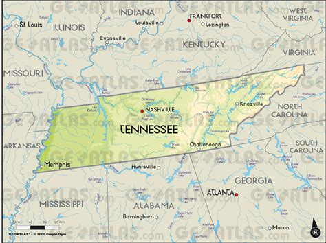 tennessee on a map of the united states 31 new us map tennessee bnhspine