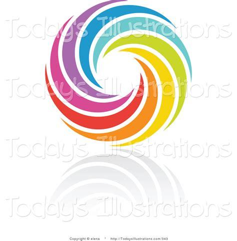 design icon circle royalty free stock new designs of rainbow logos