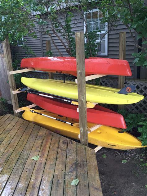 boat storage rack plans best 25 kayak storage rack ideas on pinterest kayak