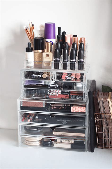 Makeup Organizer 35 ideas for stylish makeup organizer at home