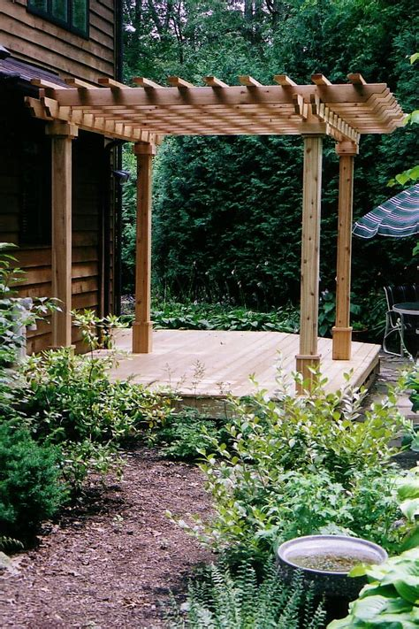 Wide Trellis Deck And Arbor Wide Home Improvement Restoration
