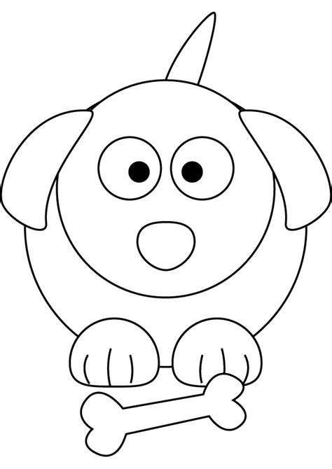 Little Puppy free coloring page