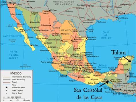 tulum mexico map map tulum san cristobal revolution from home