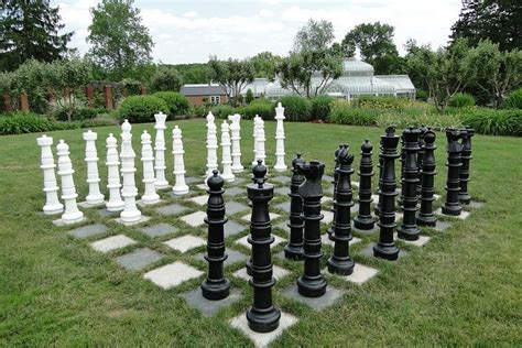 backyard chess giant chess back 40 pinterest