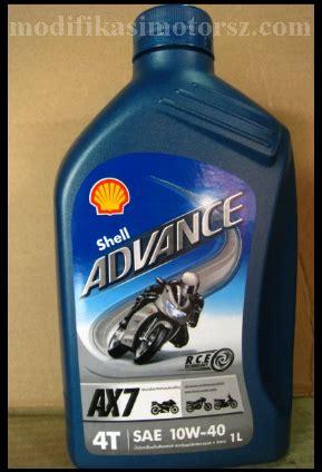 Oli Ax7 Oli Shell Ax7 Modifikasimotorz