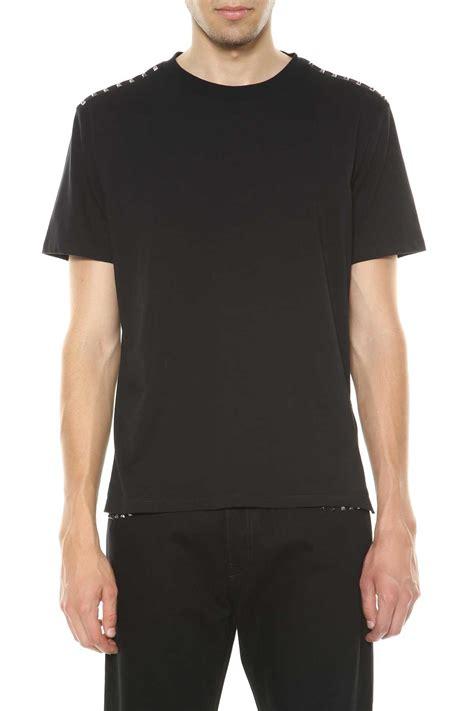 Tshirt Stuss valentino valentino t shirt with studs nero s sleeve t shirts italist