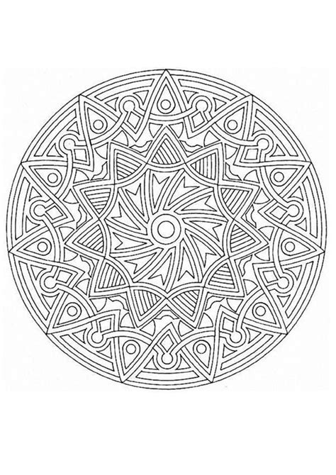 mandalas gorgeous coloring books with more than 120 illustrations to complete beautiful and original mandala with and geometric