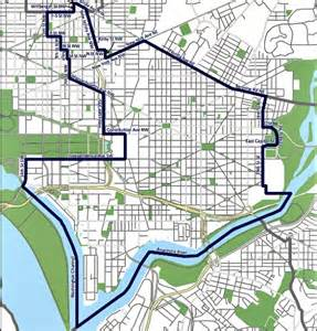 washington dc map parking carless projects prohibit parking but will dc enforce it