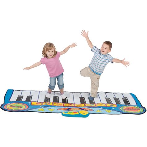Piano Activity Mat by Virtuoso Romping Stomping Piano Mat Walmart