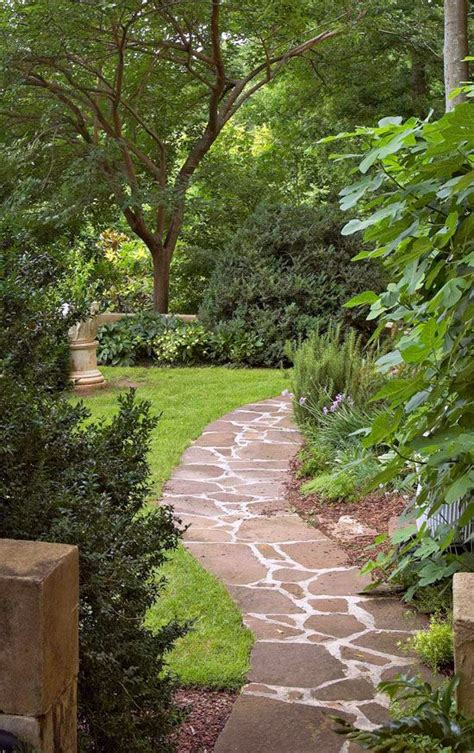 landscaping pathways french garden in a southern setting traditional home