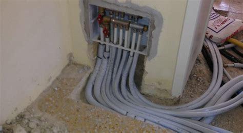 collettore riscaldamento a pavimento impianti di riscaldamento nuova impredil costruzioni e